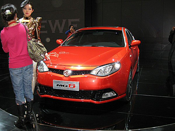 MG 6 at Shanghai