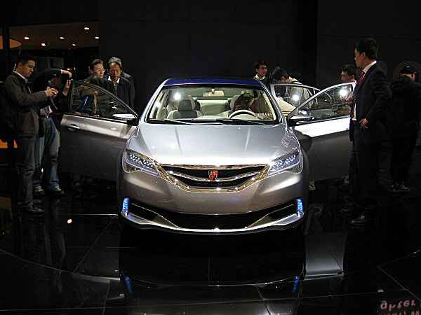 The Roewe N1 certainly looks more modern than the 550 and 750...