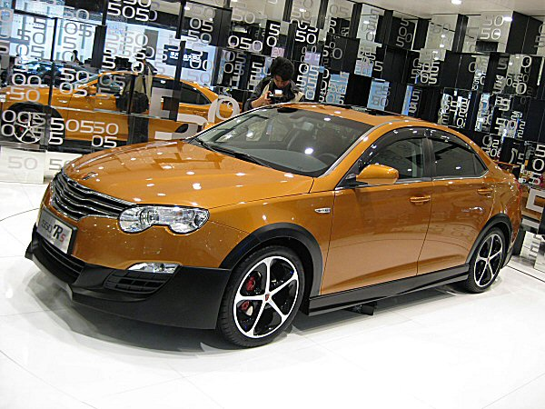 Roewe 550RS gets all sporting