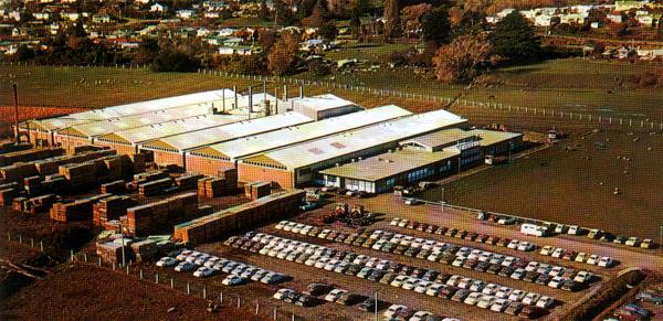 The former Standard-Triumph assembly plant at Nelson, as depicted in a BL Worldwide brochure.