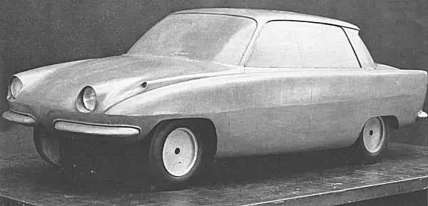Rover P6 prototype