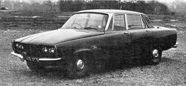 The P6/7 prototype - seventh out of 15 or 16 produced...