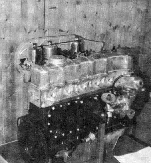 A prototype five-cylinder engine revealing that they were very much cut-and-shut affairs.