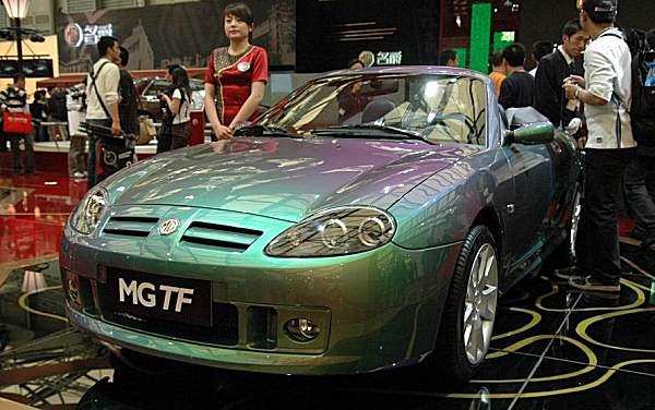 Unveiled at the Shanghai Motor Show in 2007, the NAC-MG produced MG TF had only detail changes...