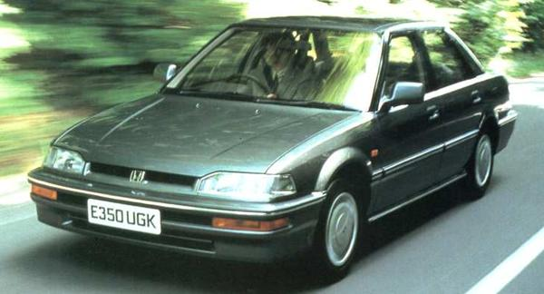 Launch-time publicity shot put out by Honda to show how the European version of the Concerto would look. Honda's version proved to be a steady, if unspectacular seller, but it did demonstrate that collaboration could benefit Honda, as well as Rover because it taught the Japanese a lot about what it was that the Europeans wanted in their mid-sized cars.