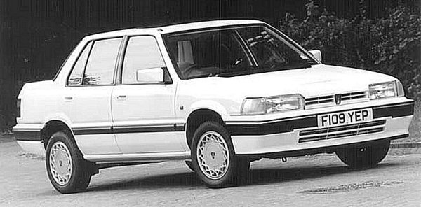"""For 1987, the Rover 213/216 received a mid-term facelift. It cannot be stressed enough just how much this nip and tuck helped contribute to the car's burgeoning sales. Within the company, it was referred to as the """"800 facelift"""", and many elements of the bigger car can be seen in this version of the 200 - especially the interior and trim/colour combinations. Access to the boot was also vastly improved with the adoption of a lower loading sill."""