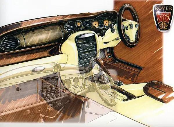 Rover 75 prototype