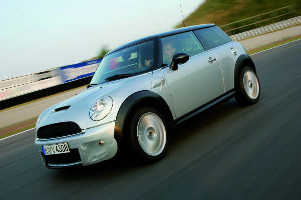 Keen handling was a design priority in the R56...