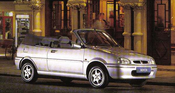 Pert looks and a low list price didn't result in stellar sales, but today, the Rover 100 Cabriolet has a long list of enthusiasts.