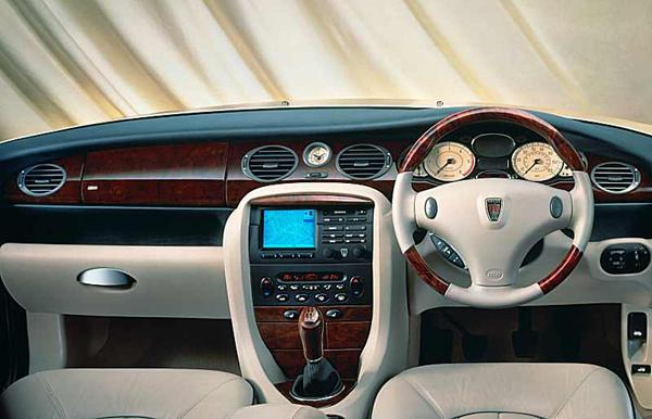 Fully loaded 75 dashboard indeed displays a wonderful mixture of traditional materials and advanced design – the wood was also more than decorative!Fully loaded 75 dashboard indeed displays a wonderful mixture of traditional materials and advanced design – the wood was also more than decorative!