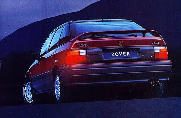 1990 Rover 216GTi 16V.