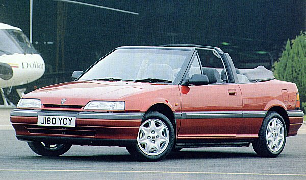 1991 Rover 216 Cabriolet