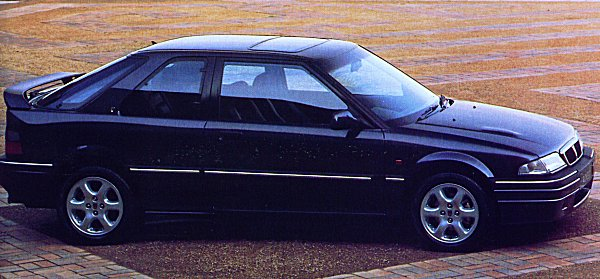 The fantastically rare 220GSi Turbo - the first generally available GTi class car with around 200bhp...