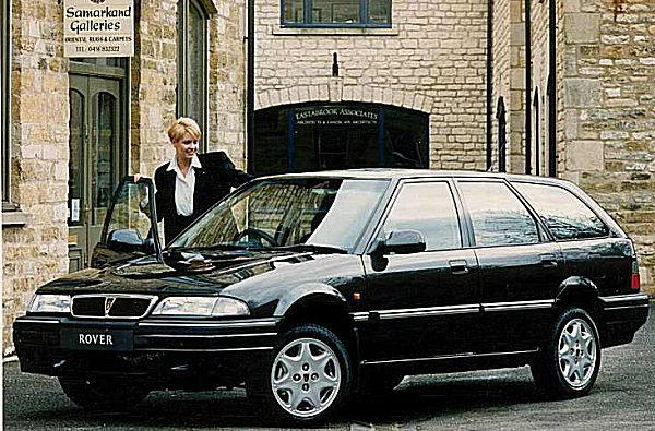 1994 Rover 420 GSi Tourer - offered all the trappings of the Sport models (apart from side skirts) in a practical package.