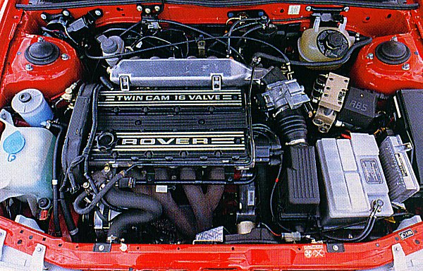 M16 engine: it didn't last long in the R8.