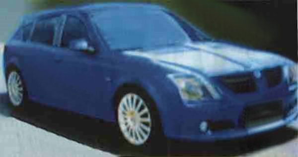 2003 saw the first sight of the MG version of the RD60. Dubbed the X60, the MG had a tougher stance than the Rover, and an attractive nose treatment, which successfully previewed the 2004 facelifts of the MG ZR, ZS and ZT...