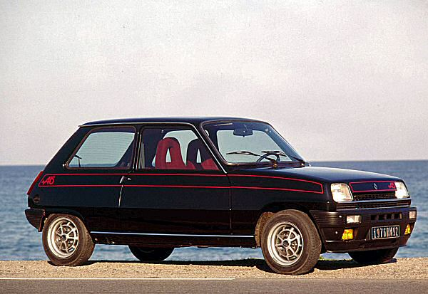 The greatest home for the Sierra engine? The Renault 5 was a fine supermini.