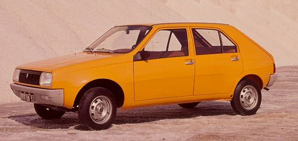 Renault's 14 was powered by an all-new XA engine, built in Douvrin...