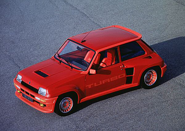 The Renault 5 Turbo delivered well over 200bhp in rally form...