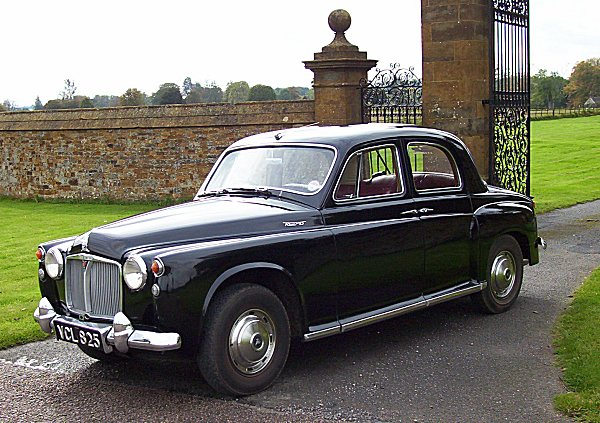 Rover's P4 remains a very able car to drive today, and has a timeless look to it. Richard Woolley took many design cues from it when creating his 'modern classic' 75.