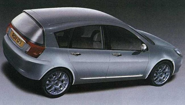 """The above image, published in Autocar at the time of the sell-off, """"closely resembled the final design"""", according to a senior designer involved with the project. That being the case, it is a shame that the events that unfolded meant that the car never reached production. According to the same designer, it was a """"cracking car""""... so it is time that we lobby BMW to release details of the car, if only to preserve a part of the history of the British car industry!"""