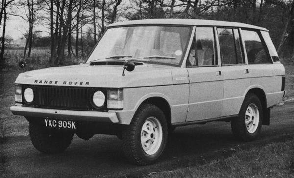 Rover had produced this four-door prototype Range Rover way back in 1972 - looking almost identical to the finished article. Sadly, the company did not have the resources with which to get it into production.