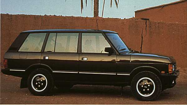 The official long wheelbase conversion appears not to have harmed the Range Rover's balanced looks one bit.