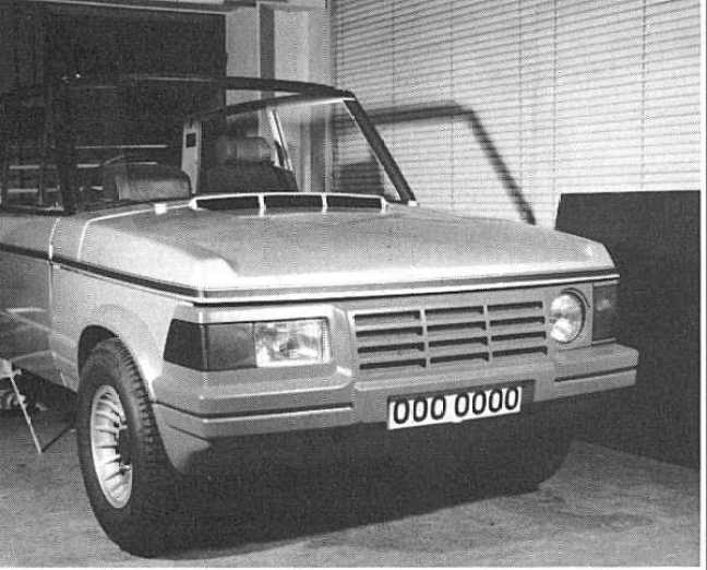 1980, and the scheme to improve the car's frontal aspect bears fruit. Management decided not to pursue the project...thankfully.