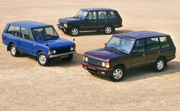 The cars : Range Rover development history
