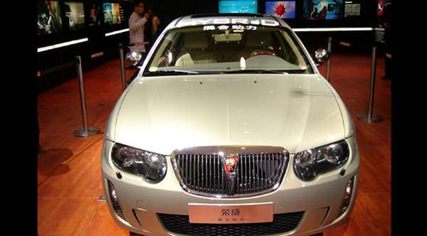 Hybrid model was first shown at the Beijing Motor Show in early 2007, and it caused quite a stir. (Picture: Ash Sutcliffe)