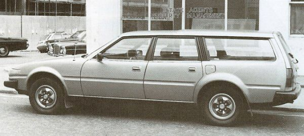 Sir Michael Edwards' Rover SD1 estate was a regular sighting in the City of London between 1977 and 1979 - and proved a popular magazine scoop of the time.