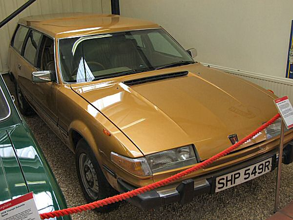 Michael Edwards' SD1 estate - now in Vanden Plas form, and still on display at the Haynes Motor Museum in Sparkford.