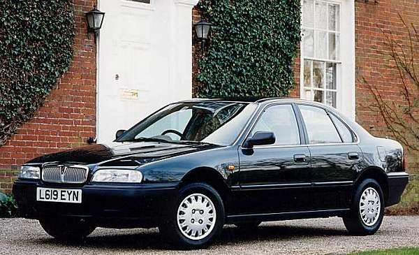 The cars : Rover 600 development history
