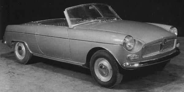 This version of the Abingdon car features different frontal detailing, with a longer bonnet and wider grille.