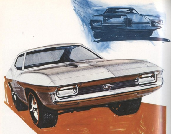 Sketches from 1964 had a distinctively American feel about them.