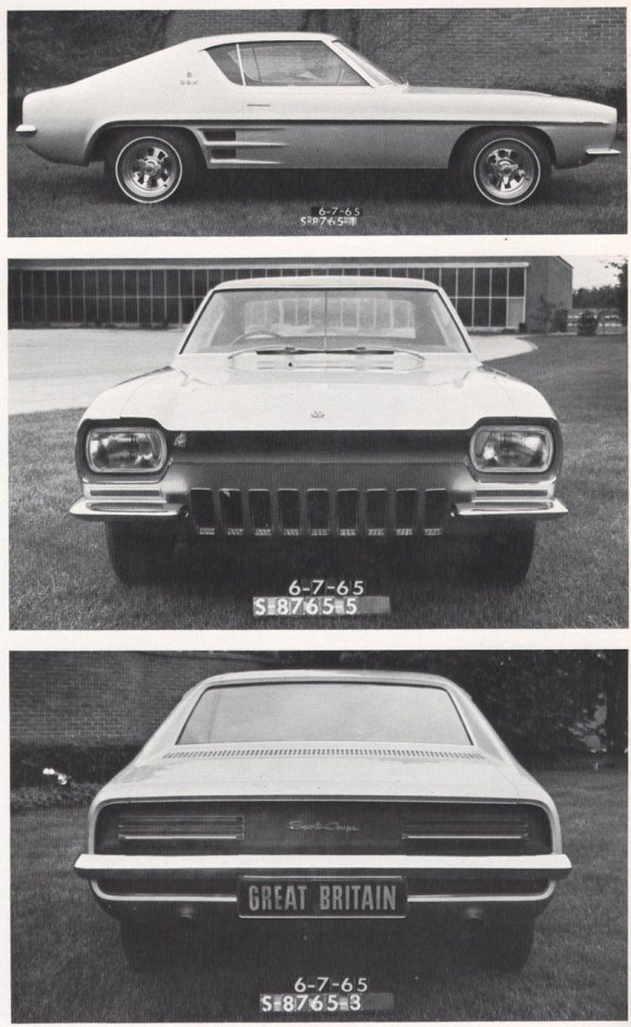 Ford Capri prototypes
