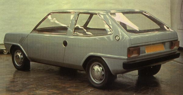 Harry Webster commissioned Michelotti to produce a version of the car – this smart and stylish proposal was the result.