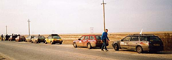 At the roadside in Turkmenistan, April 2nd