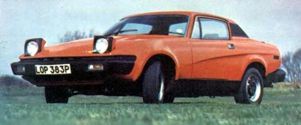 TR7 prototype was the first recipent of the Canley O-Series Turbo...