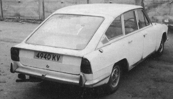 During the development of Barb, there was a serious amount of thought put into the concept of a 2000 fastback. This would use an uprated version of the straight-six engine, and would serve as a stylish high speed executive express. This fully-built model was evaluated and then passed over in favour of tbe more conventional estate model. This did not stop Triumph using it for themselves as a company car...