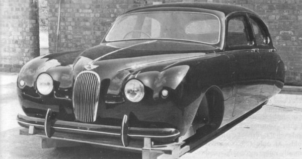 Early Utah prototype leaned heavily on the XK stylistically