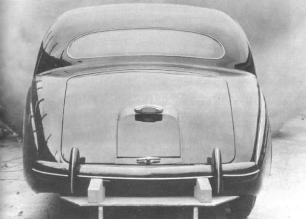Utah prototype from the rear