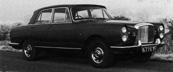 Bentley Java prototype was developed using the Vanden Plas 3-litre as a basis – when the project was scrapped in 1962, its engine was used in the Vanden Plas 4-litre R, and its suspension founds its way into the ADO61.