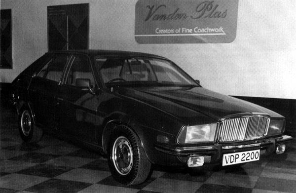 By 1974, thoughts had turned to producing a Vanden Plas version of the new Austin 2200, to sell alongside the Allegro-based 1500. However, this plan came to nothing, no doubt as a result of the Ryder Report which also saw the withdrawal of the Austin, Morris and Wolseley versions of this car barely six months after they had been launched.