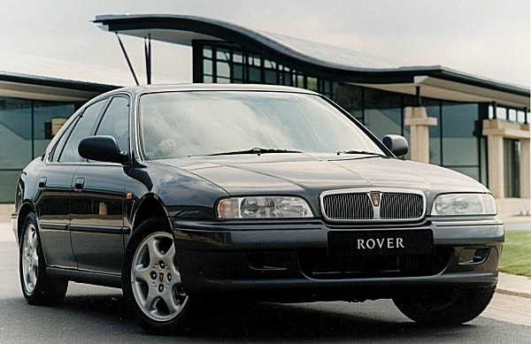 """The Rover 600 was without doubt, a design success on two levels: 1) It was successfully styled to look very different from the Honda that sired it and 2) It looked classy in its own right, and moved forward the Rover design philosophy into a more """"organic"""" era - curves replaced straight lines."""