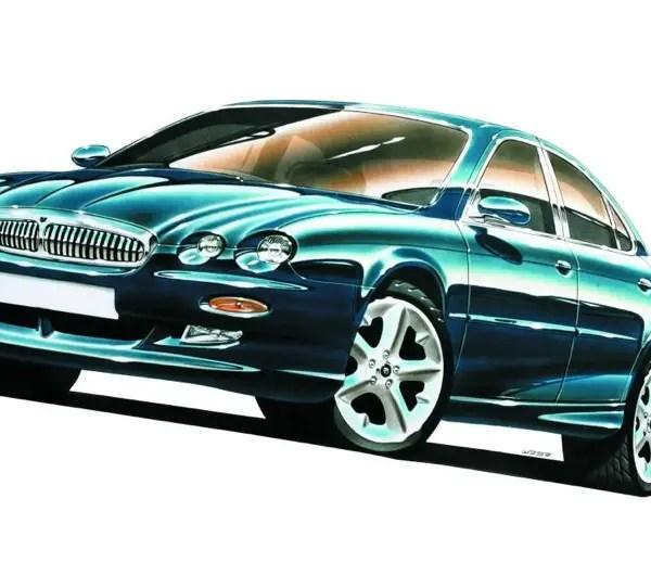 Jaguar X-Type design sketch