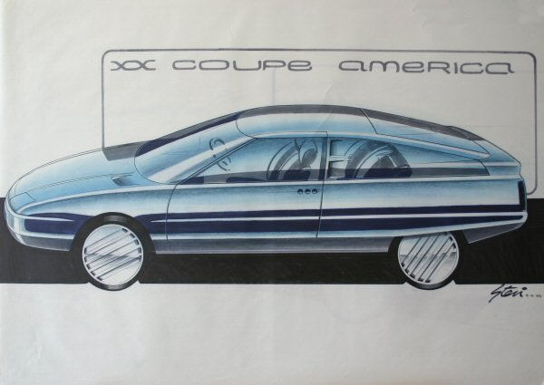 Simple coupe lines adopted for the US-focused model…