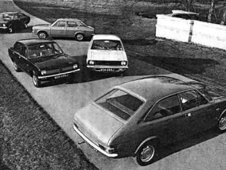 Morris Marina represented a new start for British Leyland Motor Corporation