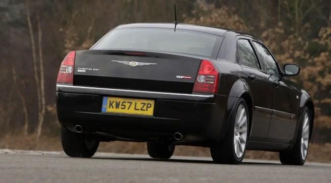 Chrysler 300C rear view