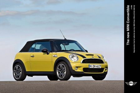 R57 MINI Convertible breaks little ground stylistically